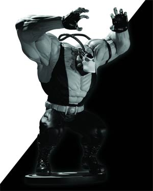Batman Black & White Series Bane Mini Statue By Kelley Jones