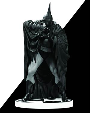 Batman Black & White Series Original Mini Statue By Kelley Jones Version 2