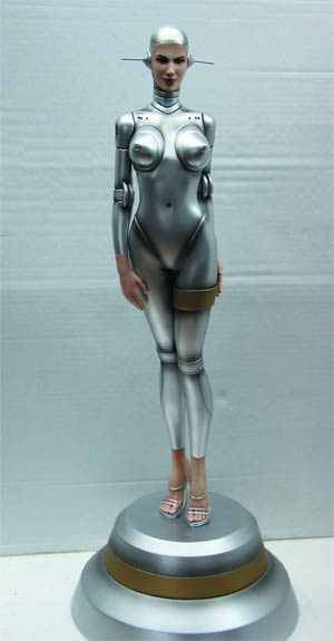Fantasy Figure Gallery Sorayamas Sexy Robot 002 Statue Human Face Version