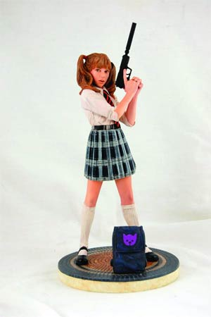 Hit-Girl School Girl Statue