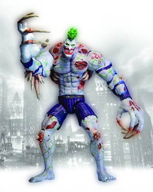 Batman Arkham Asylum Deluxe Titan Joker Action Figure