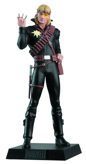 Classic Marvel Figurine Collection Magazine #185 Longshot
