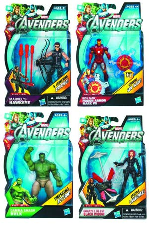 Avengers Earths Mightiest Heroes Action Figure Assortment Case 201204