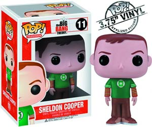 POP Television 11 Big Bang Theory Sheldon Cooper Vinyl Figure