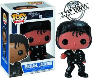 POP Rock 25 Michael Jackson Bad Vinyl Figure