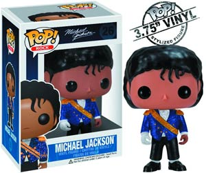 POP Rock 26 Michael Jackson Military Jacket Vinyl Figure