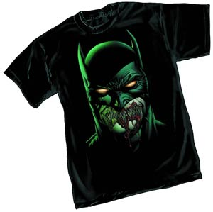 Batman Zombie By David Finch T-Shirt Large