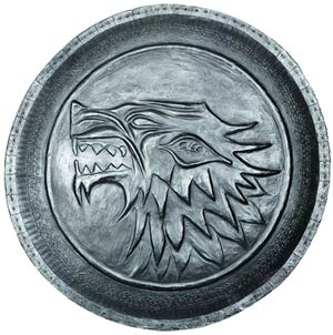 Game Of Thrones Shield Pin - Stark
