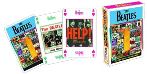 Beatles Singles Playing Cards