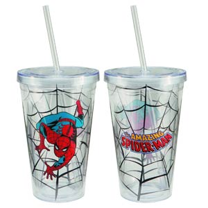 Amazing Spider-Man 18-Ounce Acrylic Travel Cup