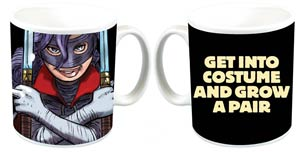 Kick-Ass Get Into Costume And Grow A Pair Mug