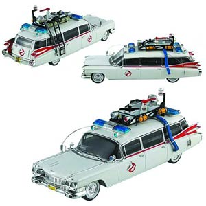 Hot Wheels Cult Classics Ghostbusters 1/43 Scale Ecto-1A Die-Cast