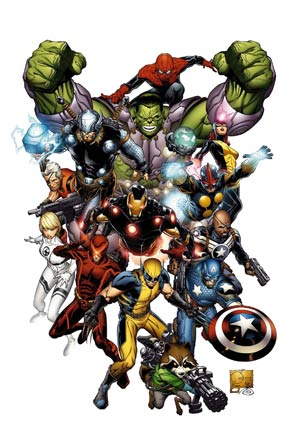 Marvel Now By Joe Quesada Poster