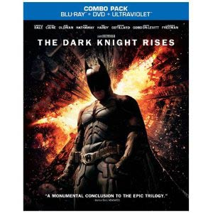 Batman Dark Knight Rises Blu-ray Combo DVD