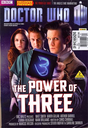 Doctor Who Magazine #452 2012