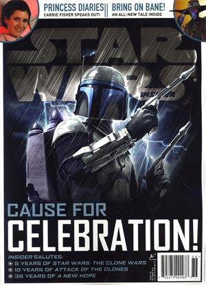 Star Wars Insider #136 Oct 2012 Newsstand Edition