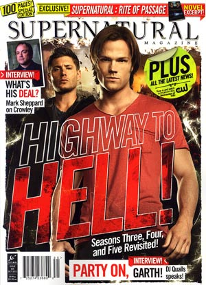 Supernatural Magazine #35 Oct 2012 Newsstand Edition