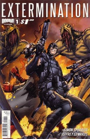 Extermination #1 1st Ptg Cover B Trevor Hairsine