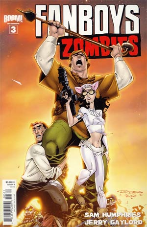 Fanboys vs Zombies #3 Regular Cover B