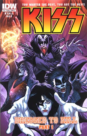 KISS Vol 2 #1 1st Ptg Regular Jamal Igle Cover