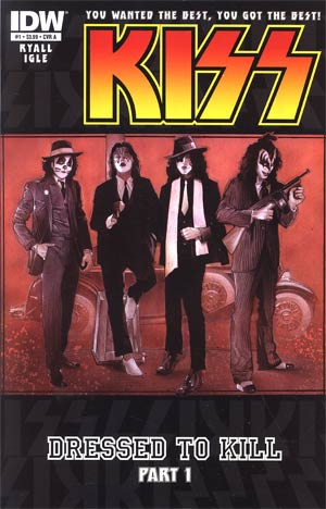 KISS Vol 2 #1 1st Ptg Regular Nick Runge Cover