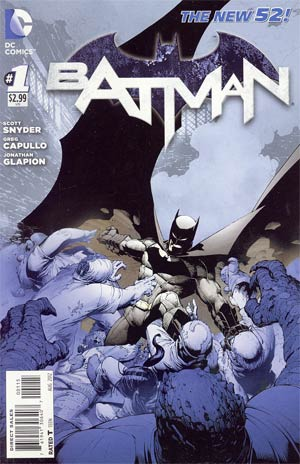 Batman Vol 2 #1  Cover E 5th Ptg