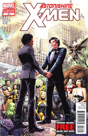 Astonishing X-Men Vol 3 #51 2nd Ptg Dustin Weaver Variant Cover