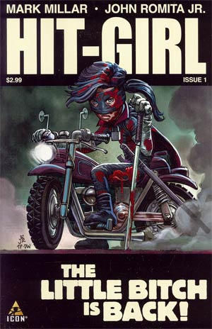 Hit-Girl #1 Regular John Romita Jr Cover
