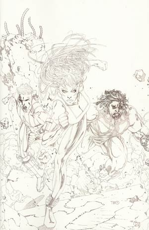 Hypernaturals #1 Incentive Timothy Green II Sketch Cover