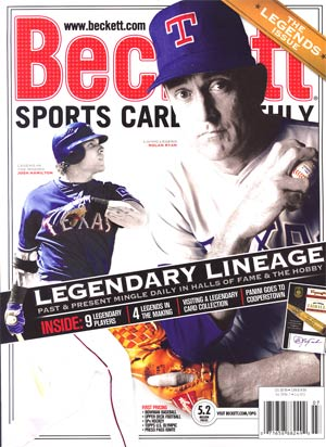 Beckett Sports Card Monthly Vol 29 #7 Jul 2012