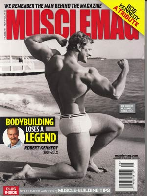 Muscle Mag #363 Aug 2012