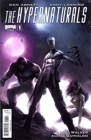 Hypernaturals #1 1st Ptg Regular Cover A Francesco Mattina
