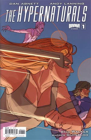 Hypernaturals #1 1st Ptg Regular Cover C Phil Noto