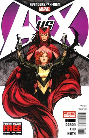 Avengers vs X-Men #0 Cover E 5th Ptg Frank Cho Variant Cover