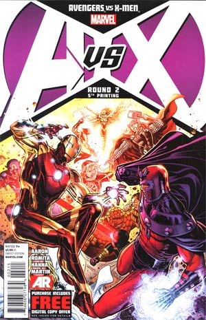Avengers vs X-Men #2 5th Ptg Jim Cheung Variant Cover