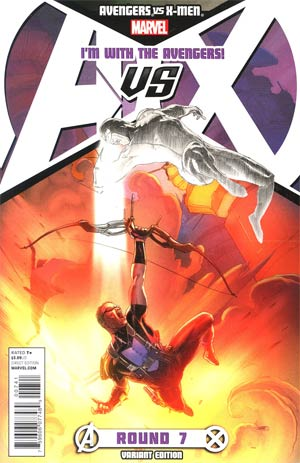Avengers vs X-Men #7 Variant Team Avengers Cover