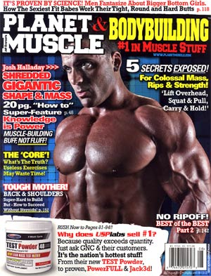 Planet Muscle Magazine Jul / Aug 2012