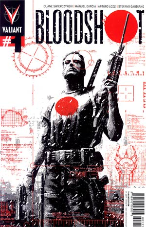 Bloodshot Vol 3 #1 Incentive David Aja Variant Cover