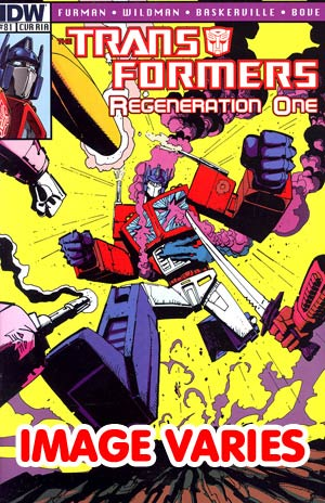 Transformers Regeneration One #81 Incentive Geoff Senior Variant Cover