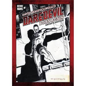 David Mazzucchellis Daredevil Born Again Artists Edition HC Signed By David Mazzuchelli