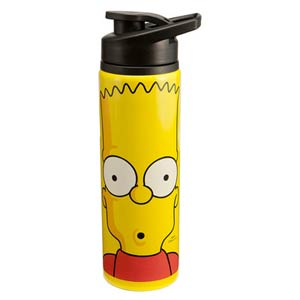 Simpsons 24-Ounce Stainless Steel Water Bottle