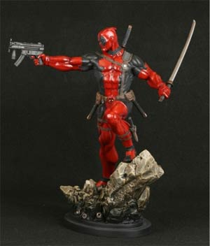 Deadpool Action Statue By Bowen