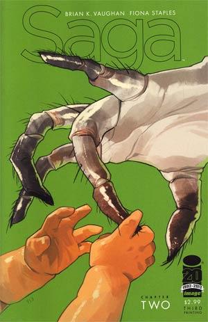Saga #2 Cover C 3rd Ptg