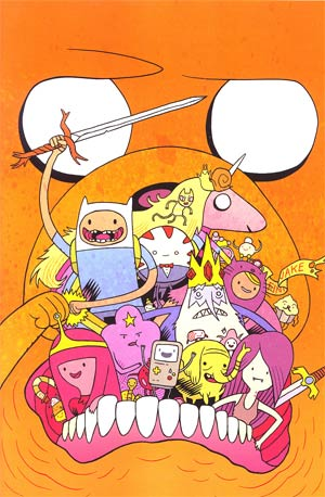 Adventure Time #6 Incentive Dan Hipp Virgin Variant Cover
