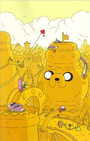 Adventure Time #6 Incentive Steve Wolfhard Virgin Variant Cover
