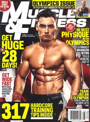 Muscle & Fitness Magazine Vol 73 #8 Aug 2012