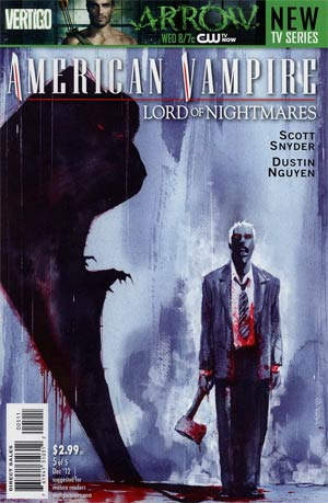 American Vampire Lord Of Nightmares #5
