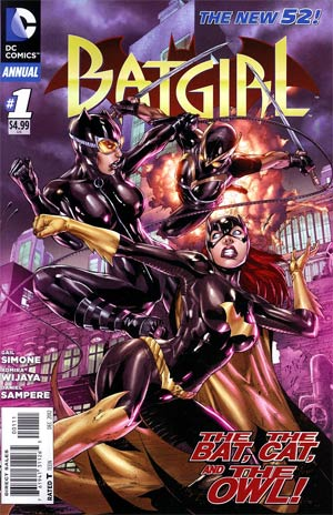 Batgirl Vol 4 Annual #1