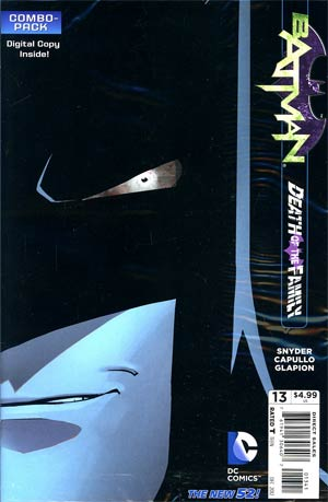 Batman Vol 2 #13 Cvr C Combo Pack With Polybag (Death Of The Family Tie-In)