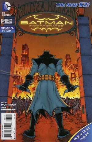 Batman Incorporated Vol 2 #5 Combo Pack With Polybag